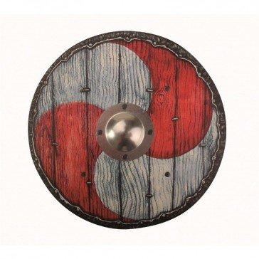 Bouclier Viking Eric rouge/blanc - VAH