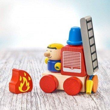 Camion de Pompiers à velcro - Selecta