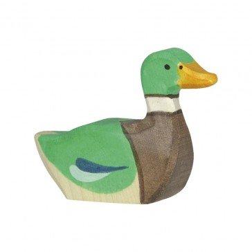 Canard nageant - Holztiger