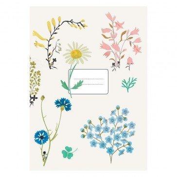 Carnets Fleurs - Poisson Bulle