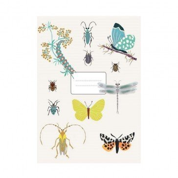 Carnet Insectes - Poisson Bulle