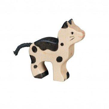 Chat en bois - Holztiger