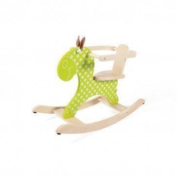Cheval à bascule vert - Scratch Europe