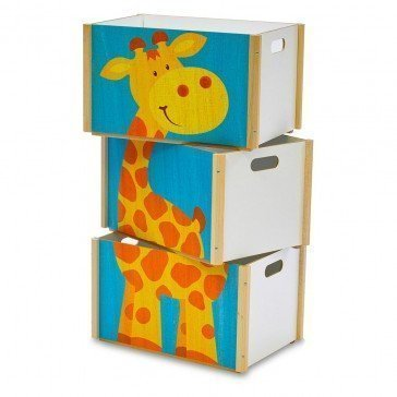 Coffre à jouets Girafe