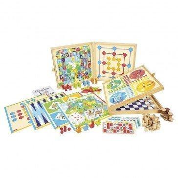 Coffret de jeux traditionnels - 150 règles - Jeujura