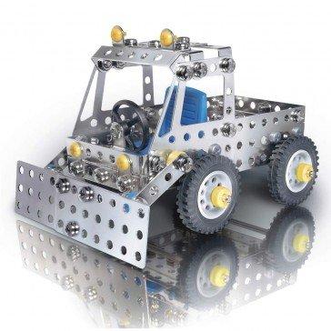 Jeu de construction métallique Les trois camions - Eitech