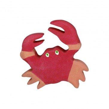 Crabe en bois - Holztiger