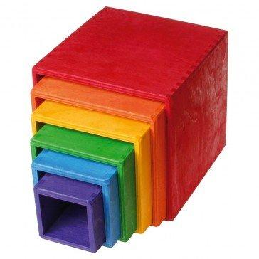 Grands cubes Gigogne à empiler - Grimm's