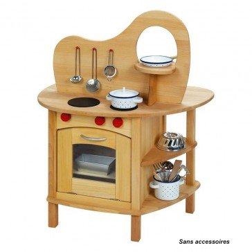 Cuisinière en bois massif - NIC TOYS