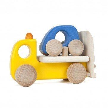 Dépanneuse et voiture en bois - Fabricant Européen