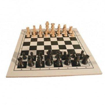 Jeu d'échecs en bois - Artisan du Jura
