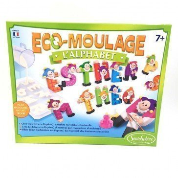 Eco-Moulage Popsine L'alphabet - Sentosphère