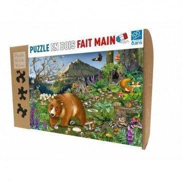 Puzzle En Montagne 100 pcs - Puzzle Michèle Wilson