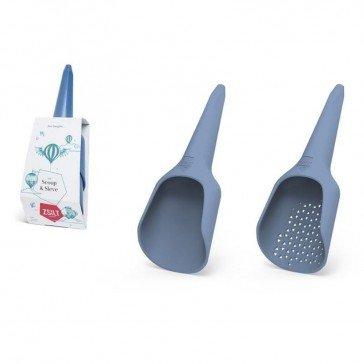 Ensemble de plage en plastique recyclé - 2 pelles - Zsilt