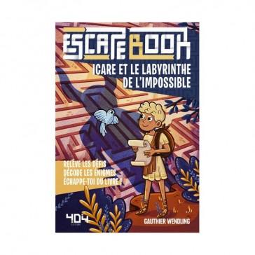 Escape Book - Icare et le labyrinthe de l'impossible - 404 Éditions