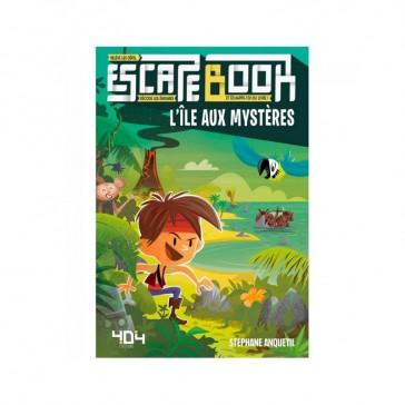 Escape Book - L'ile aux mystères - 404 Éditions