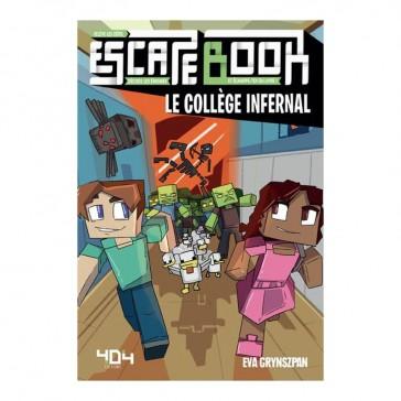 Escape Book - Minecraft le collège infernal - 404 Éditions