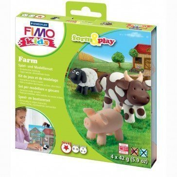 Pâte Fimo Kids Staedtler ferme - Pâte Fimo