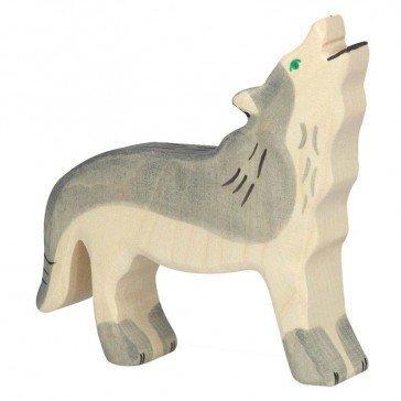 Loup en bois - Holztiger