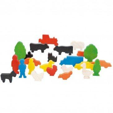 Figurines de la ferme 24 pcs - Nemmer