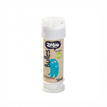 Bulles de savon biologique 50 ml - Zélio