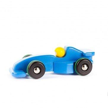 Voiture de course Formule 1 bleue - Fabricant Polonais