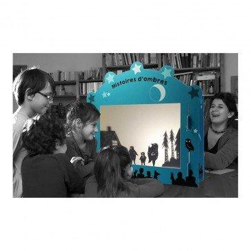 Grand théâtre d'ombres chinoises en carton - Coco D'en Haut