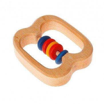 Hochet en bois 5 anneaux - Grimm's