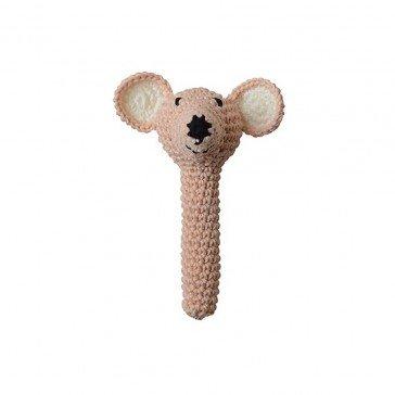 Hochet Souris en crochet - Fabricant Espagnol