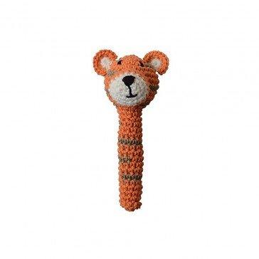 Hochet Tigre en crochet - Fabricant Espagnol