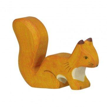 Ecureuil debout orange - Holztiger
