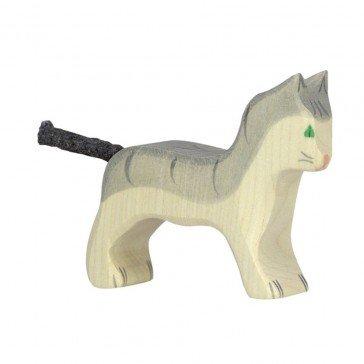 Petit Chat gris - Holztiger