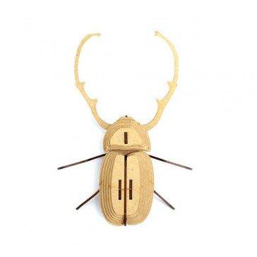 Insecte en bois et cuir - Calingratus - Agent Paper