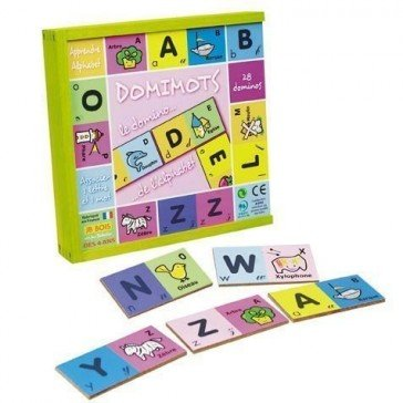 Domimots le domino des lettres - JB Bois