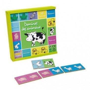 Dominos des animaux - JB Bois
