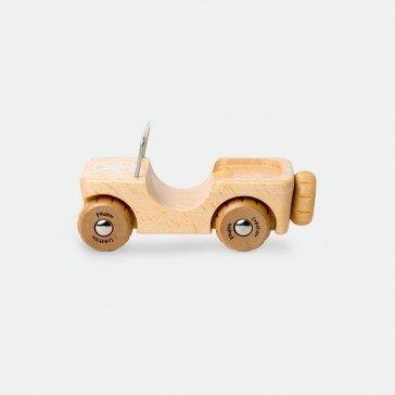 Jeep en bois - Artisan du Jura
