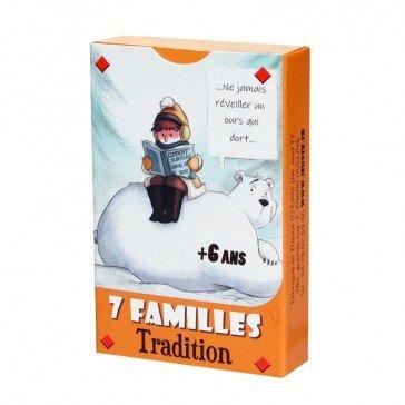 """Jeu de 7 familles """"Tradition"""" - Jeux FK"""