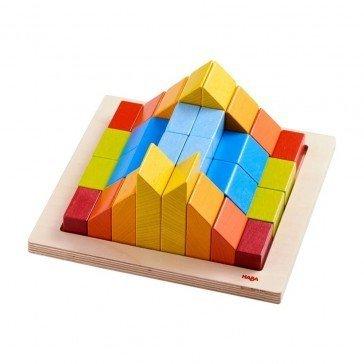 Jeu d'assemblage 3D - Pierres créatives - Haba