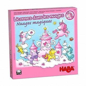 Jeu coopératif Licorne et Nuages magiques - Haba