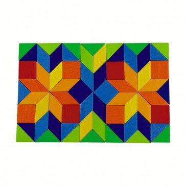 Jeu d'assemblage Mosaïque multicolore - Haba