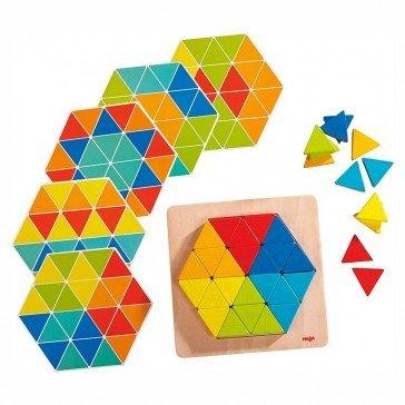 Jeu d'assemblage Triangles magiques - Haba