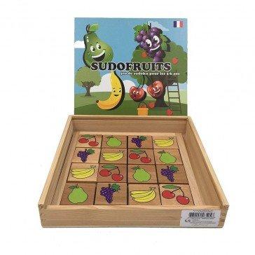 Jeu de Sudoku - Sudofruits - Artisan du Jura