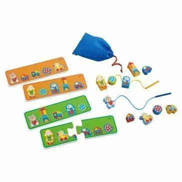 Jeu de laçage mes jouets préférés - Haba
