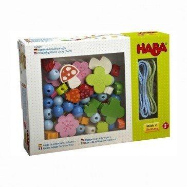 Jeu de laçage Perles Porte-bonheur - Haba