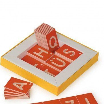 Jeu éducatif Lettres majuscules - Fabricant Allemand
