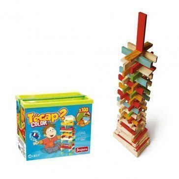 Planchettes en bois Tecap color 100 pièces - Jeujura