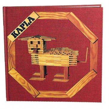 Livre d'art Bâtisseur en herbe (Tome 1) - Kapla