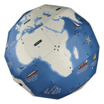 Globe terrestre 3D - Pirouette Cacahouète