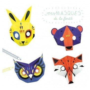 Masques de la Forêt 3D - Pirouette Cacahouète
