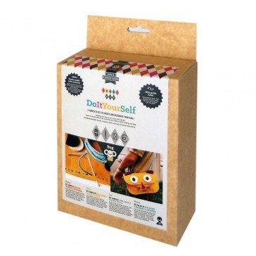 Kit de couture sac Chat jaune - Fabricant Espagnol